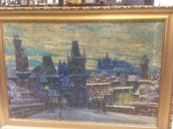 Olej , plátno  144x96