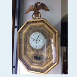 Rámové pozlacené hodiny